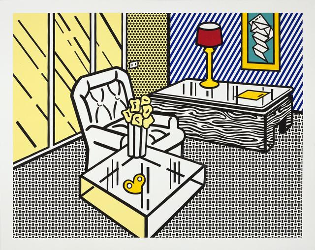 Roy Lichtenstein, 'The Den', 1991, Gemini G.E.L.