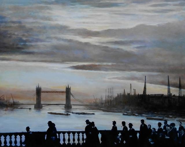 , 'Thames, 1947,' 2017-2018, Lora Schlesinger Gallery