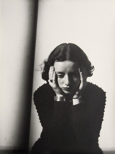, 'Portrait Composition, (Portrait of Lore Krüger),' 1937, Atlas Gallery
