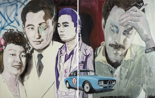 , 'Last Cigarette,' 2010, Meem Gallery