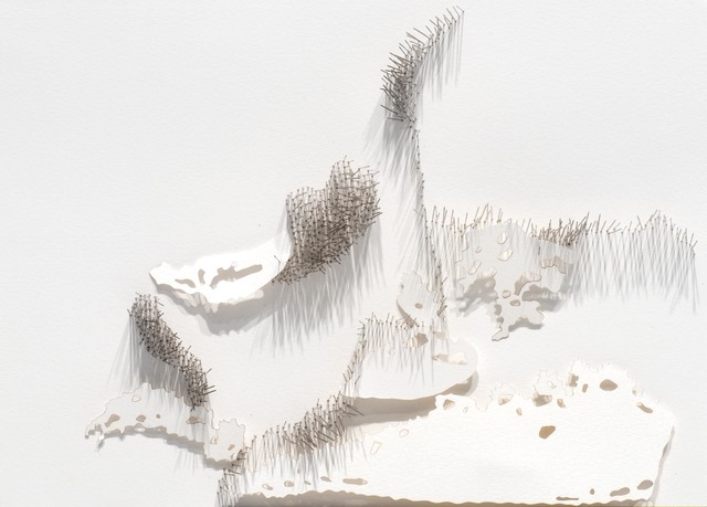 , 'Frontière 8,' 2017, L'Atelier 21