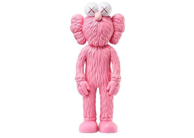 KAWS, 'Kaws Pink BFF', 2019, Sculpture, Vinyl & Cast Resin, Hicks Contemporary