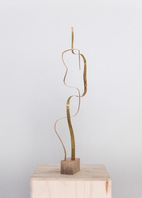 ", 'Sculpture in Brass by Jacques Jarrige ""Angel #13"",' 2017, Valerie Goodman Gallery"