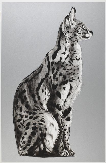 , '25. Silver Serval 1,' 2018, Sladmore Contemporary