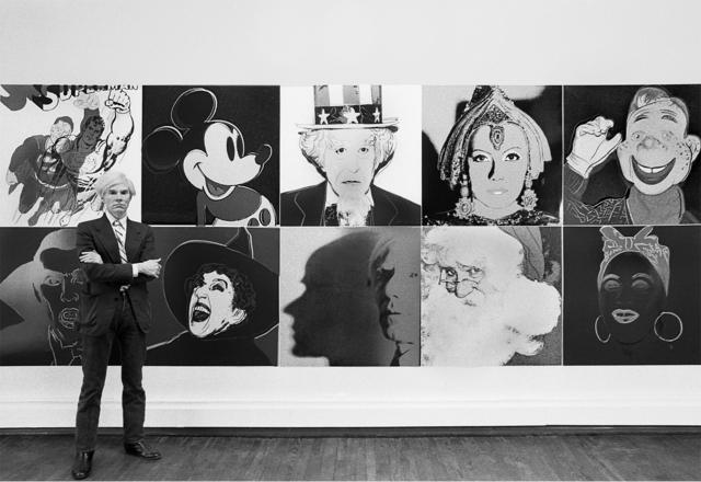 , 'Andy Warhol at R. Feldman Gallery with Myths 1981,' 2015, Maison Gerard