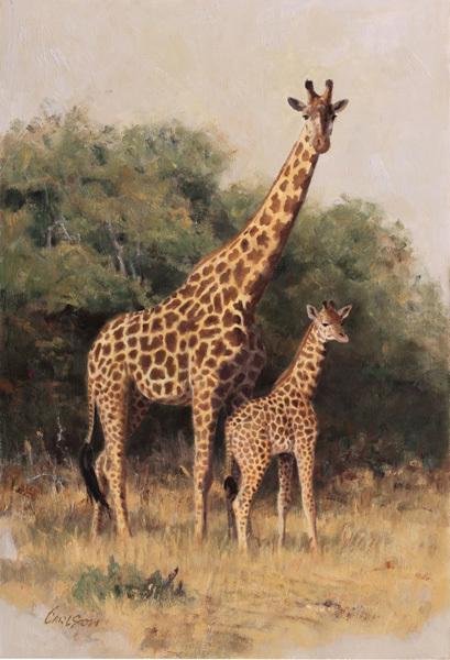 , 'Masai Giraffe,' , Trailside Galleries