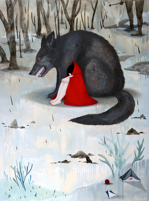 , 'Red Riding Hood,' 2014, Flower Pepper Gallery
