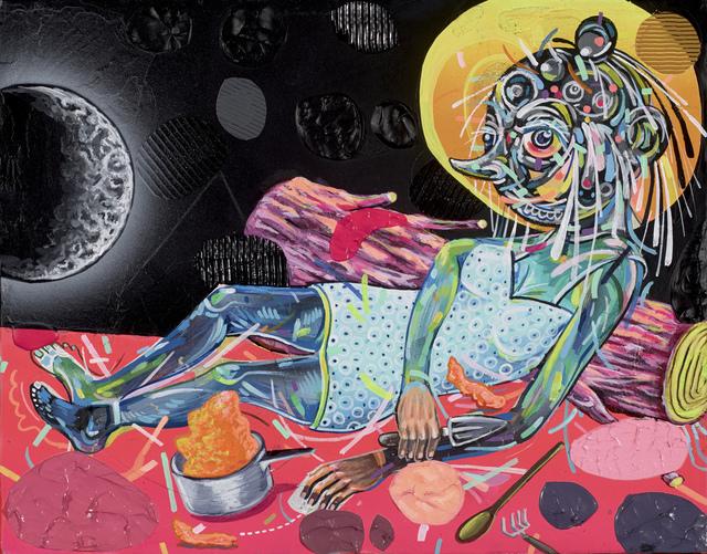 , 'WAXING CRESCENT MOOD,' 2013, Antonio Colombo