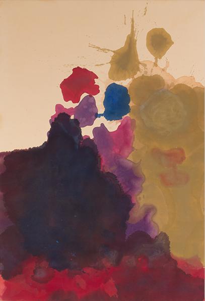 , 'Untitled,' 1962-1963, Helen Frankenthaler Foundation