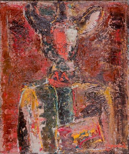 , 'The Old Artist,' 1975, Ararat Gallery