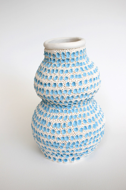, 'Blue and White Double Gourd Vase,' 2018, Mindy Solomon Gallery
