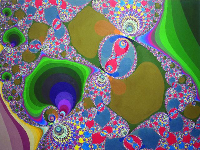 , 'Diptych part 2,' 2000-2001, Pola Magnetyczne