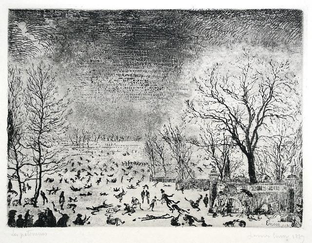 , 'Les Patineurs,' , Harris Schrank Fine Prints