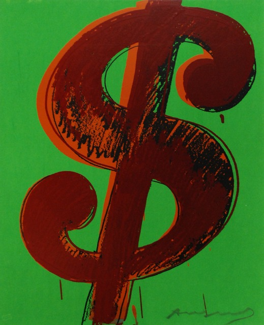 Andy Warhol, 'Dollar Sign', 1982, Harn Museum of Art