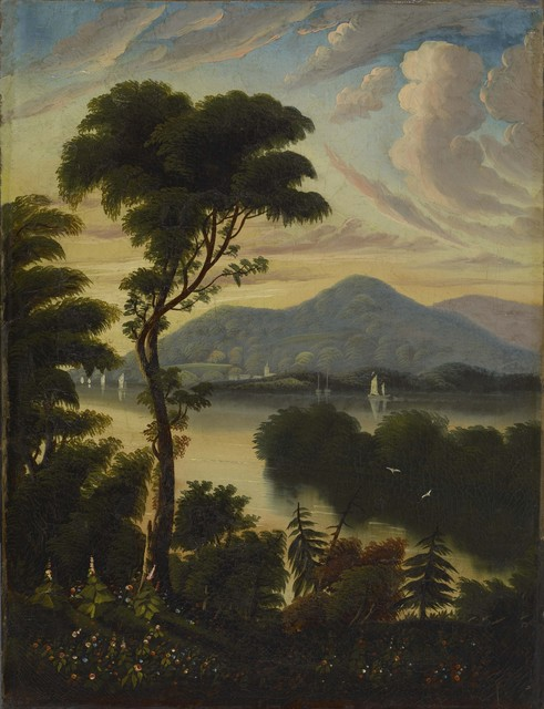 Thomas Chambers, 'Landscape', ca. 1830, Colby College Museum of Art
