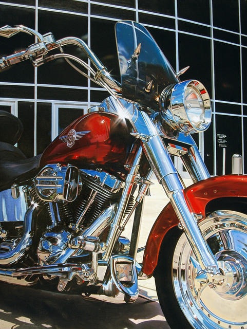 , 'Harley Fat Boy,' 2014, Louis K. Meisel Gallery