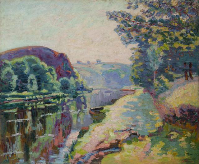Armand Guillaumin, 'La roche de l'écho à Crozant', ca. 1907, HELENE BAILLY GALLERY