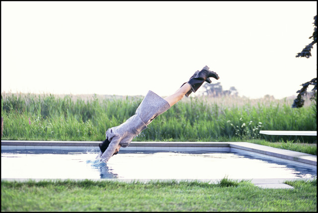, 'Stella Diving, Watermill, New York, VOGUE,' 1995, Staley-Wise Gallery