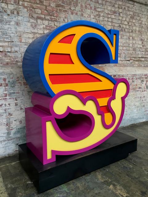 , 'S (Sculpture),' 2018, StolenSpace Gallery