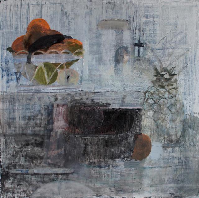, 'Fruit with Toaster Reflection,' 2017, Nancy Margolis Gallery
