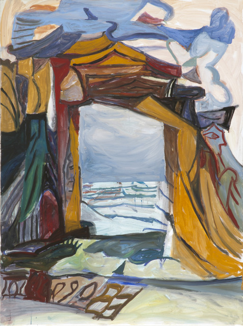 , 'Gate by the Sea,' 2016, Linda Warren Projects