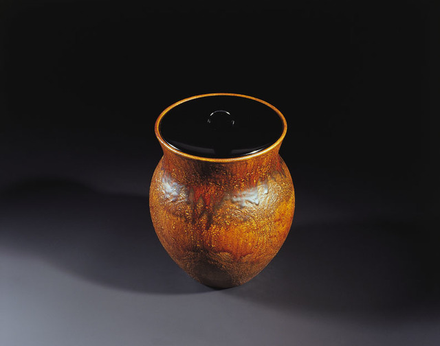 , 'Ōhi Amber Tea Water Container 01,' 2007, Onishi Gallery