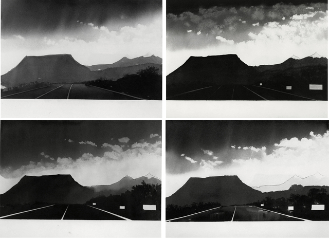Alfred Leslie, 'Near Gallup, New Mexico (from 100 Views Along the Road)', 1981, Bruce Silverstein Gallery