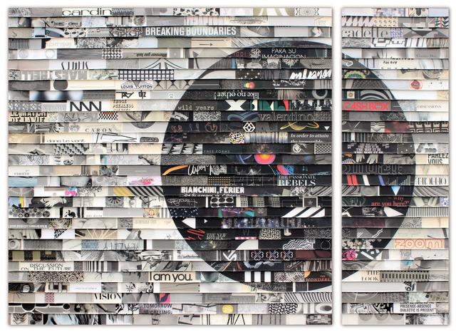 , 'Citta Samtana Diptych 194,' 2017, Jennifer Kostuik Gallery