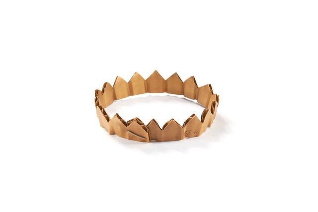 , 'Small Cardboard Crown bracelet,' 2015, Ornamentum