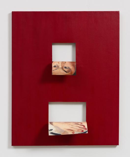 , 'Doubleface (Alizarin Crimson),' 2017, Fortes D'Aloia & Gabriel