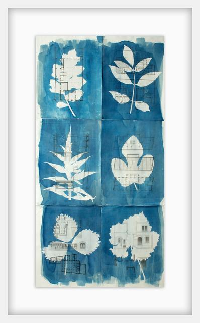 Dianne Bos, 'Moniteur Des Architectes With Leaf Shapes', 2018, Newzones