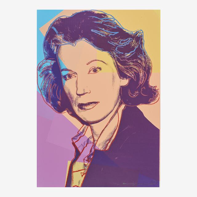 Andy Warhol, 'Mildred Scheel', 1980, Rago/Wright