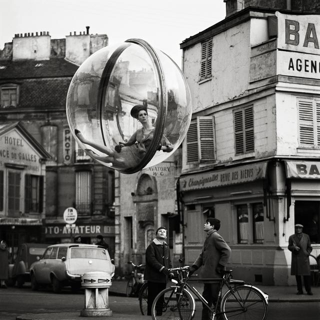 , 'Bicycle Street, Paris,' 1963, Holden Luntz Gallery
