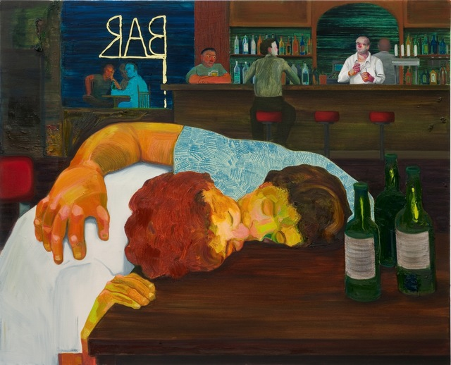 , 'Sloppy Bar Room Kiss,' 2011, ICA Philadelphia