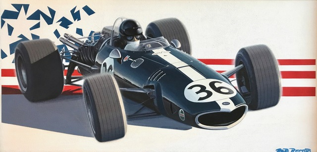 Robert Rector, ' Second Indy Car, Dan Gurney #36 ', The Illustrated Gallery