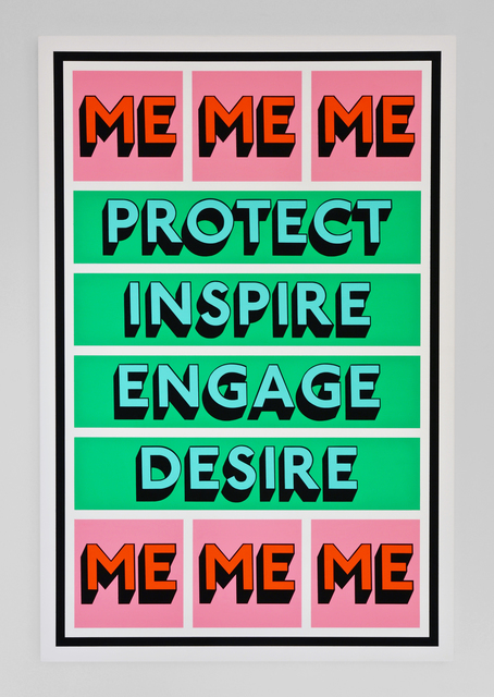 , 'PROTECT ME,' 2018, Hang-Up Gallery