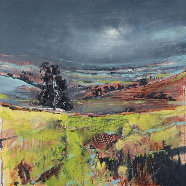 , 'Oak & Mist,' 2017, Thackeray Gallery