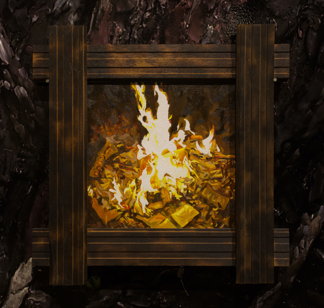 , 'Fire Seres, No. 12,' 2018, Track 16 Gallery