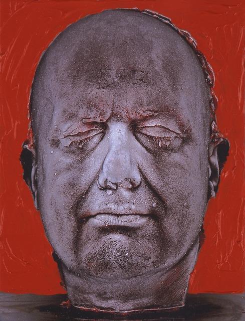 , 'Self (Red),' 2006, Osborne Samuel