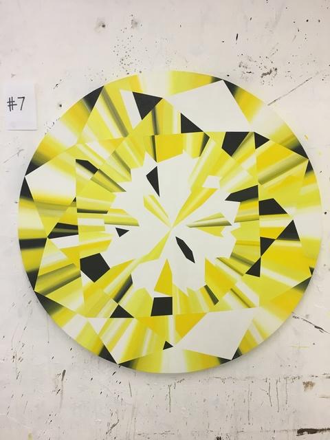 Kurt Pio, 'Yellow Round Diamond L', 2019, Parlor Gallery