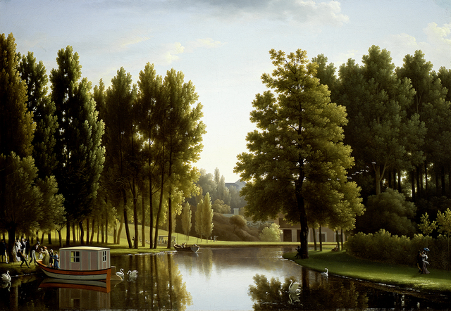 Jean Joseph Xavier Bidauld, 'The Park at Mortefontaine', 1806, Indianapolis Museum of Art at Newfields