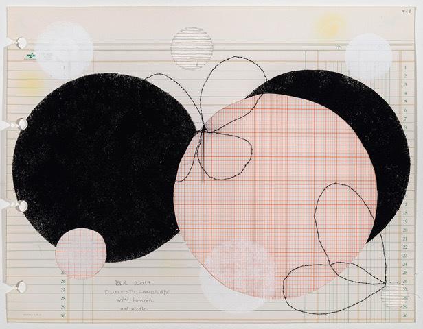 , 'Domestic Landscape with Turmeric, and Needle, #28,' 2019, Travesia Cuatro