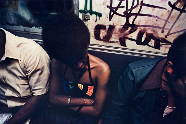 , 'Untitled, Subway, New York,' 1980, ROSEGALLERY