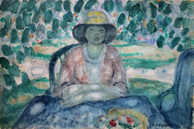 , 'In the Garden, Giverny,' ca. 1920, Caldwell Gallery Hudson