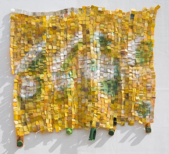 Serge Attukwei Clottey, 'My family made me', 2017, Jane Lombard Gallery