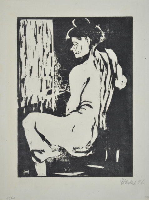 , 'Seated Model,' 1907, Galerie St. Etienne
