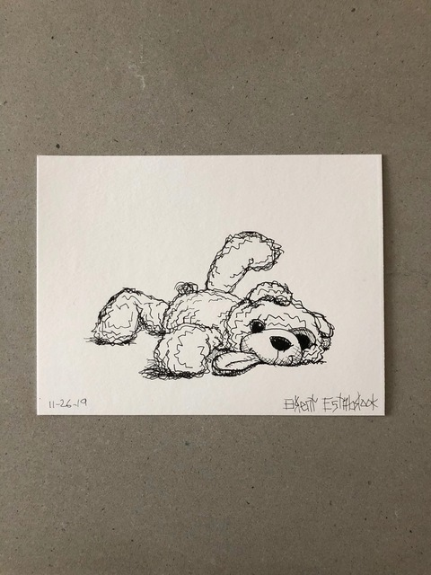"Brent Estabrook, '""Morning Sketch"" 11-26-2019', 2019, James Wright Gallery"