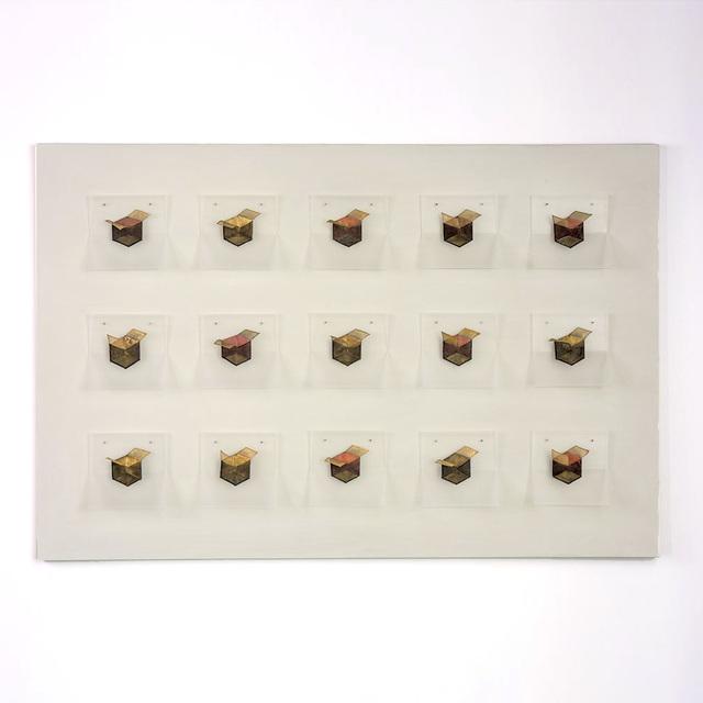 , 'Black 15 Boxes,' 2016, browngrotta arts