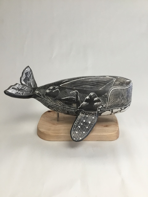 , 'Collision (Right Whale),' 2019, Greenhut Galleries
