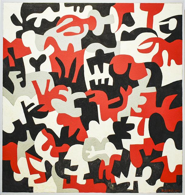 Paul Katz, 'Interlock #52', 2017, Carrie Haddad Gallery